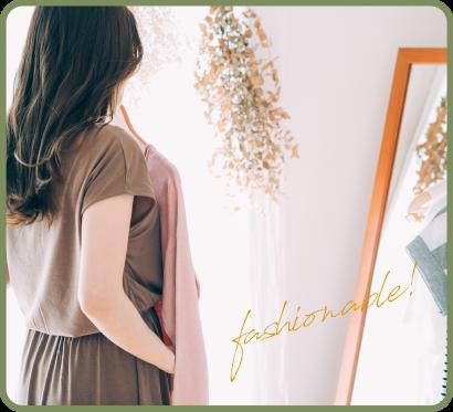 モデル前田ゆかさんによる2021年秋のトレンドファッション